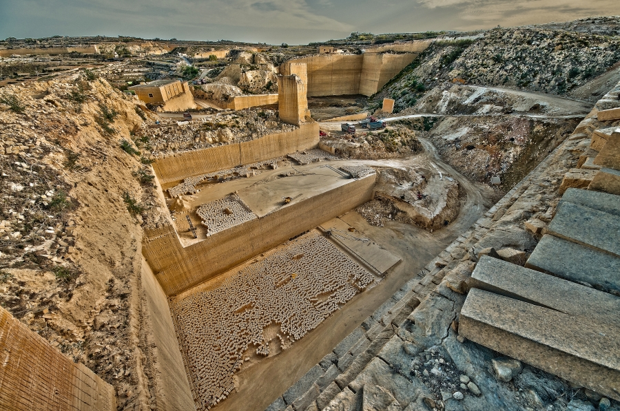 Gozo, Stone Quarry  David Bugeja (c) 2013